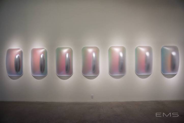 Gisela Colon: Hyper-Minimal at Diane Rosenstein Fine Art. Photo Credit Eric Minh Swenson