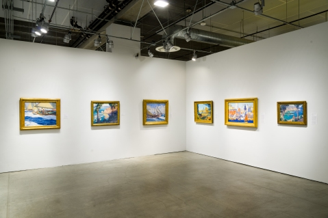 Installation view, In the Land of Sunshine: Imaging the California Coast Culture, September 25, 2016-February 19, 2017, Pasadena Museum of California Art, photo © 2016 Don Milici