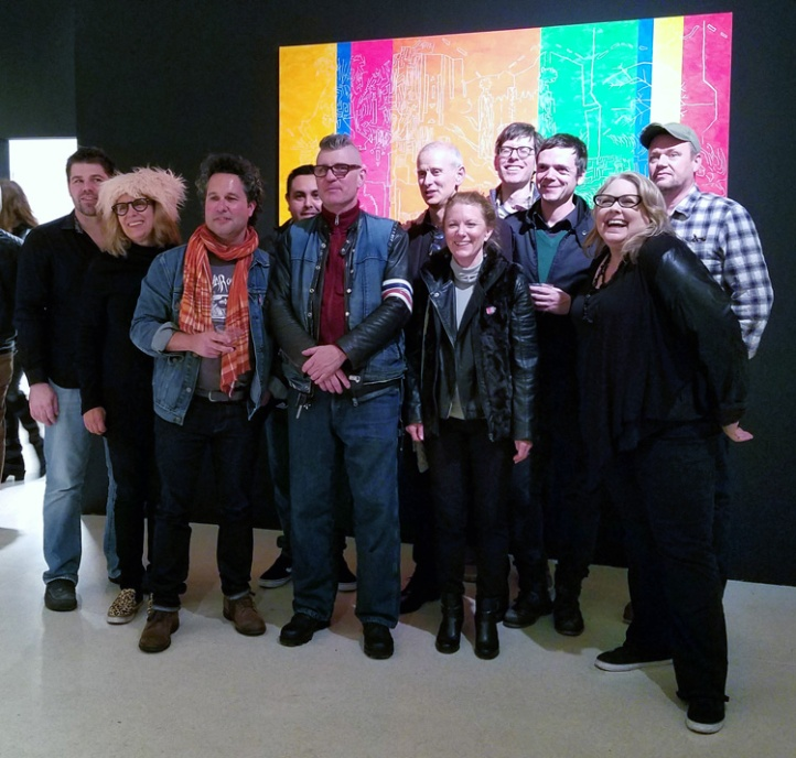 The Collectivists at the Brand Library & Art Center (Durden and Ray pictured)