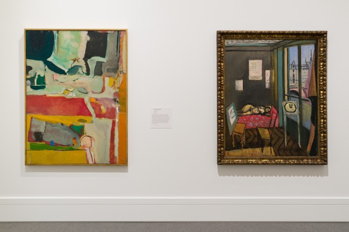 Matisse/Diebenkorn Installation View at The Baltimore Museum of Art. Photographer: Mitro Hood.