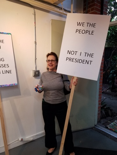 """Susan Amorde """"Speaking Out"""" Shoebox Projects Photo Credit Kristine Schomaker"""