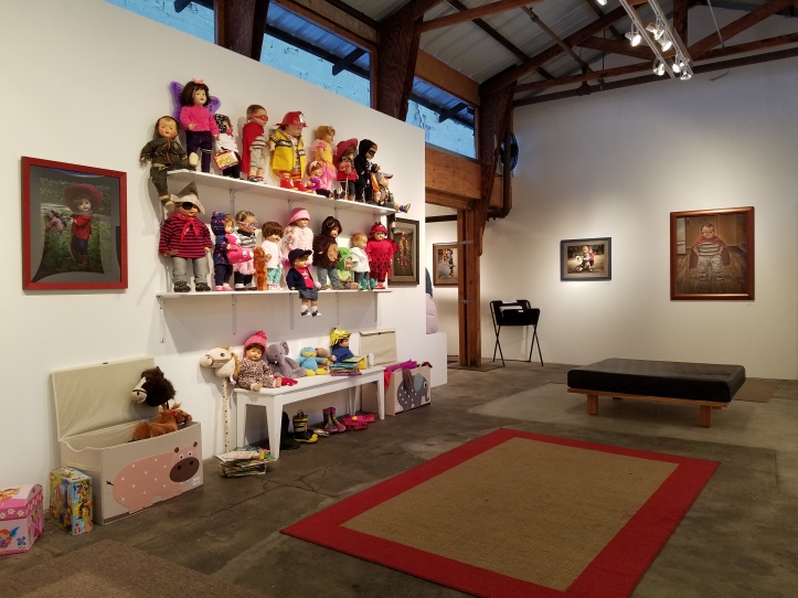 Kathy Curtis Cahill. Make Believe. Keystone Art Space. Photo Credit Kristine Schomaker