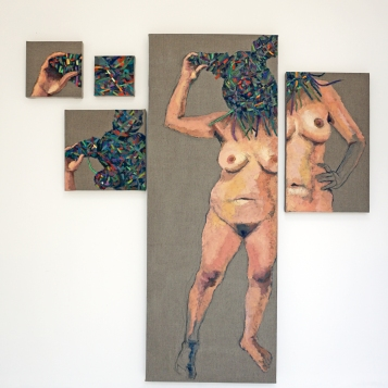 Diane Williams in Change is Gonna Come at Avenue 50 on view through January 21st. Photo Credit Diane Williams