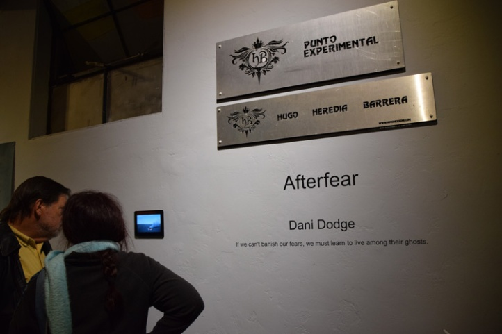"Dani Dodge ""Afterfear"" HB Punto Experimental Photo Credit Kristine Schomaker"