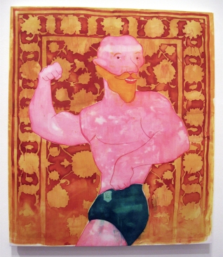 """""""Can't Deny It"""" Yes, Please, and Thank You Projects: New Paintings by Orkideh Torabi Photo Credit Patrick Quinn"""