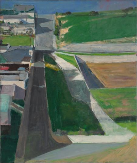 Richard Diebenkorn. Cityscape I. 1963. San Francisco Museum of Modern Art. ©2016 The Richard Diebenkorn Foundation