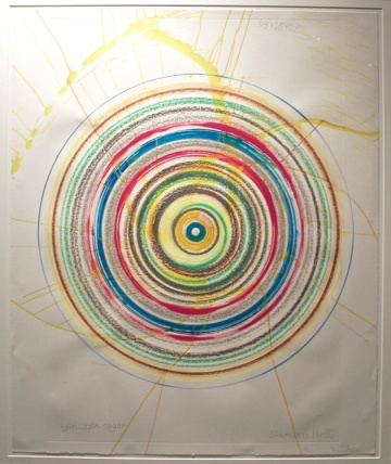 Damien Hirst, Spin Spin Sugar ©2017 LA ART SHOW, Photo credit- JulieFaith, All rights reserved.