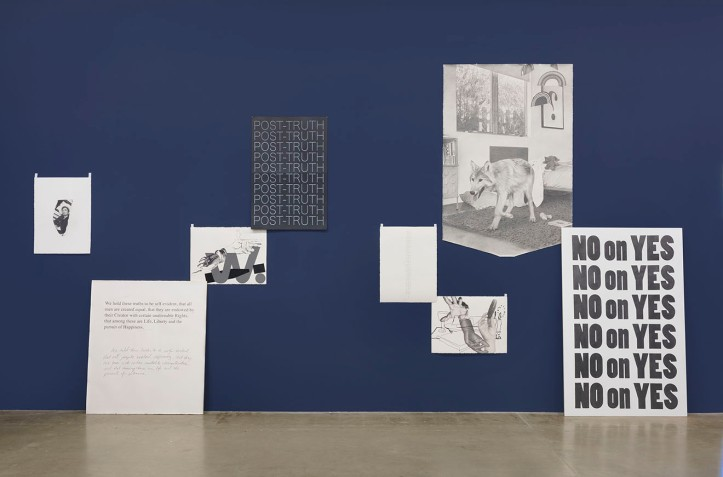 """Karl Haendel """"BY AND BY"""" Photo Courtesy of Susanne Vielmetter Los Angeles Projects"""
