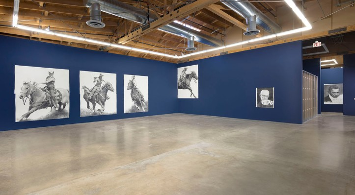 "Karl Haendel ""BY AND BY"" Photo Courtesy of Susanne Vielmetter Los Angeles Projects"