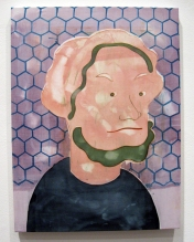 """""""Iranian Beethoven"""" Yes, Please, and Thank You Projects: New Paintings by Orkideh Torabi Photo Credit Patrick Quinn"""
