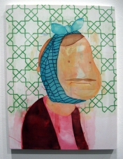 """""""It Was The Wisdom One"""" Yes, Please, and Thank You Projects: New Paintings by Orkideh Torabi Photo Credit Patrick Quinn"""