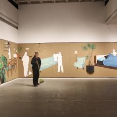 Ramiro Gomez at S/Election – Democracy, Citizenship, Freedom at the LA Municipal Art Gallery