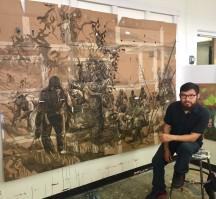 Narsiso Martinez GLAMFA 2017 Open Studios