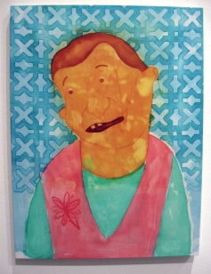 """""""May I Grab It"""" Yes, Please, and Thank You Projects: New Paintings by Orkideh Torabi Photo Credit Patrick Quinn"""
