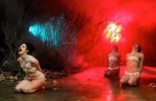 Melanie Pullen, Violent Times ©2017 LA ART SHOW, Photo credit- JulieFaith, All rights reserved