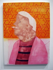 """""""More Coming Out"""" Yes, Please, and Thank You Projects: New Paintings by Orkideh Torabi Photo Credit Patrick Quinn"""