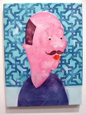 """""""Need More Focus"""" Yes, Please, and Thank You Projects: New Paintings by Orkideh Torabi Photo Credit Patrick Quinn"""