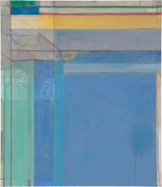 Richard Diebenkorn. Ocean Park #79. 1975. Philadelphia Museum of Art. ©2016 The Richard Diebenkorn Foundation