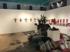 """Plastic Religion"" at La Luz De Jesus Photo Credit Sara Fortson"