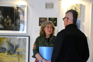 Randi Matushevitz. Startup Art Fair Los Angeles 2017. Photo Credit Kristine Schomaker