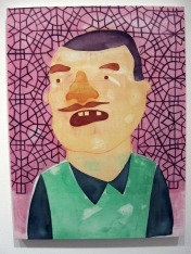 """""""Should I Turn It On"""" Yes, Please, and Thank You Projects: New Paintings by Orkideh Torabi Photo Credit Patrick Quinn"""