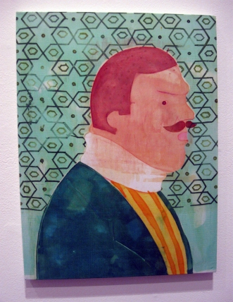"""Simply Broke My Neck"" Yes, Please, and Thank You Projects: New Paintings by Orkideh Torabi Photo Credit Patrick Quinn"