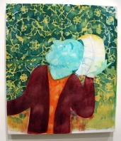 """Soaking Wet"" Yes, Please, and Thank You Projects: New Paintings by Orkideh Torabi Photo Credit Patrick Quinn"