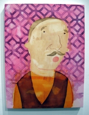 """""""Soft Or Hard"""" Yes, Please, and Thank You Projects: New Paintings by Orkideh Torabi Photo Credit Patrick Quinn"""