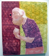 """There You Go"" Yes, Please, and Thank You Projects: New Paintings by Orkideh Torabi Photo Credit Patrick Quinn"