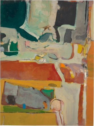 Richard Diebenkorn. Urbana #4. 1953. Colorado Springs Fine Arts Center. ©2016 The Richard Diebenkorn Foundation