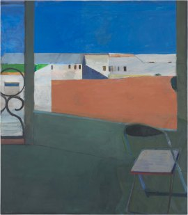 Richard Diebenkorn. Window. 1967. The Iris & B. Gerald Cantor Center for Visual Arts at Stanford University. ©2016 The Richard Diebenkorn Foundation