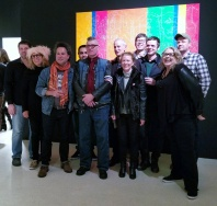 The Collectivists at the Brand Library. Durden & Ray. Photo Credit Kristine Schomaker.