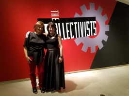 The Collectivists at the Brand Library. Kara Tome and Shannon Currie Holmes. Photo Credit Kristine Schomaker.