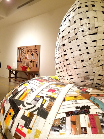 Ann Weber. Pulped Fictions. Torrance Art Museum. Photo Credit Kristine Schomaker.
