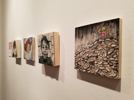 With Liberty And Justice For Some at Walter Maciel Gallery. Photo Credit Kristine Schomaker.