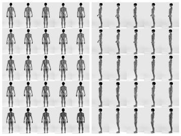 Masculine  Feminine. Photo Courtesy of The Beall Center for Art + Technology. Cassils. Time Lapse (Back/Right). 2011.