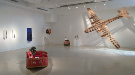 Pulped Fictions. Photo Courtesy of Torrance Art Museum.