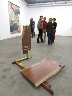 Emette Rivera, Meditation Station. By The River at ACME Gallery. Photo Credit Patrick Quinn.