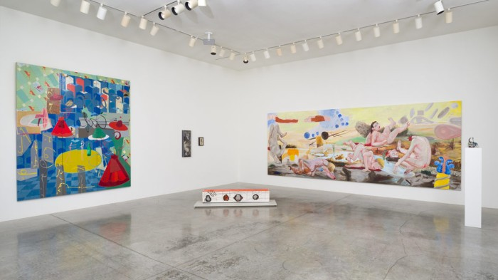A Lush Retrospective: Charles Garabedian at LA Louver. Photo Courtesy of LA Louver.