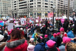 Women's March Washington D.C. January 21, 2017. Photo Essay Courtesy Samantha Fields
