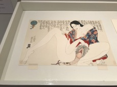 Floating Realities: The Art of Dr. Masami Teraoka at The Begovich Gallery at CSU Fullerton. Photo Credit Sara Fortson.