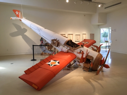 Kiel Johnson. Pulped Fictions. Torrance Art Museum. Photo Credit Lorraine Heitzman.