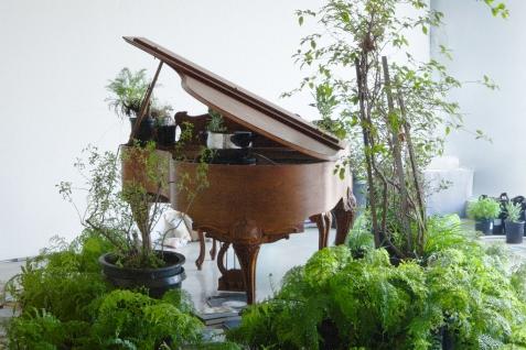 Terence Koh at Moran Bondaroff. Photo Courtesy of Moran Bondaroff Gallery.