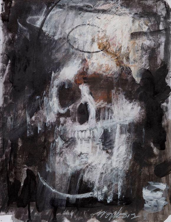 Jim Morphesis, Head, Selected Works 1974 - 2016, Photo Courtesy of Garboushian Gallery.