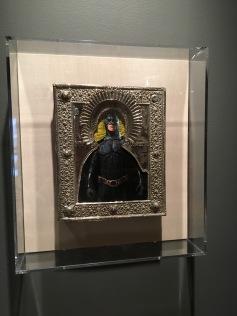 Ironic Icons: The Art of Valentin Popov, St. Batman. Photo Credit Amy Kaeser.