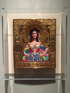 Ironic Icons: The Art of Valentin Popov, Wonder Woman. Photo Credit Amy Kaeser.