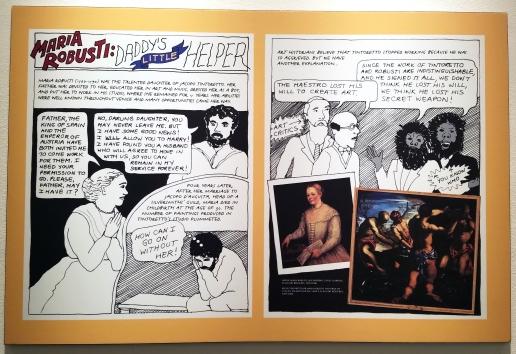 Not Ready to Make Nice: Guerrilla Girls in the Art World & Beyond at the Robert and Frances Fullerton Museum of Art at California State University, San Bernardino. Photo Credit Jacqueline Bell Johnson