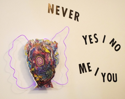 Doraelia Ruiz, Never Yes No Me You. Brainworks Gallery. Photo Credit Kristine Schomaker.