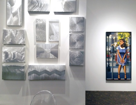 Tom Ross Gallery. Palm Springs Art Fair 2017, February 16-18, 2017 at the Palm Springs Convention Center. Photo Credit Kristine Schomaker.
