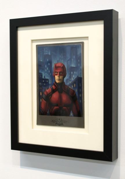 Alex Gross, Daredevil (Netflix), Corey Helford Gallery Photo credit- JulieFaith ©2017, All rights reserved.